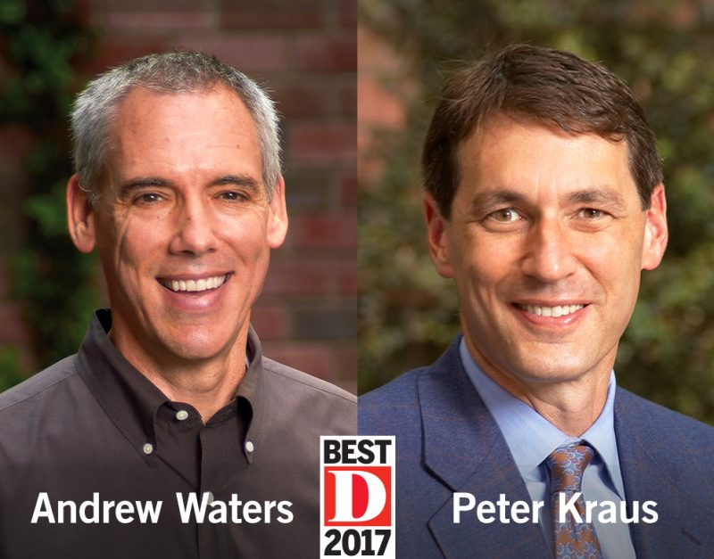 Andy Waters and Peter Kraus Each Named to Best Lawyers in Dallas 2017