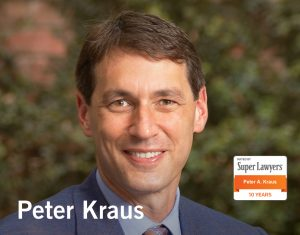peter kraus named super lawyer