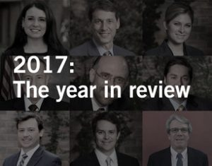 Waters Kraus & Paul: 2017 Year in Review
