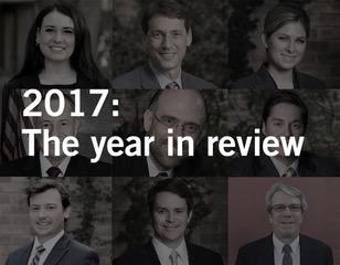 Waters Kraus & Paul: 2017 Year in Review