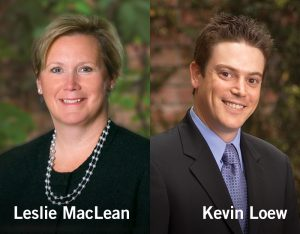 Waters Kraus & Paul announce new equity partners Kevin Loew and Leslie MacLean