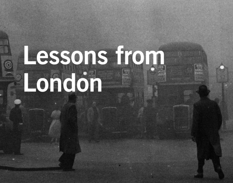 The Great Smog of London 1952